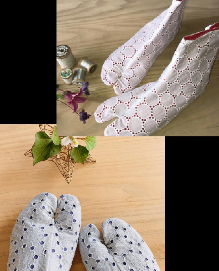 かおりんこキモノ魔法塾のオリジナル足袋